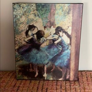 Dancer canvas painting